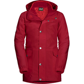 Jack Wolfskin Icy Falls 3in1 Jacket Girls indian red